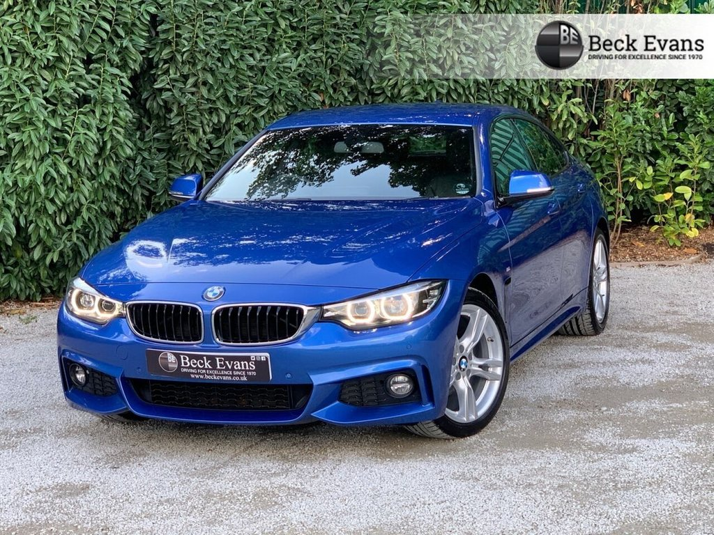 USED 2019 19 BMW 4 SERIES 2.0 420I M SPORT GRAN COUPE 4d 181 BHP