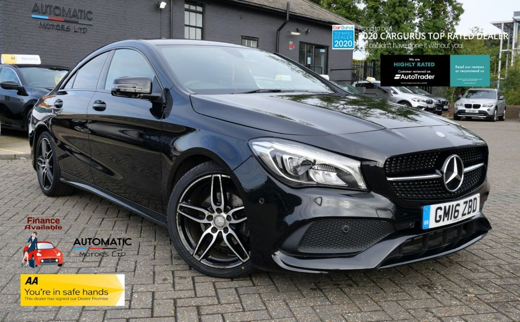 USED 2016 16 MERCEDES-BENZ CLA 1.6 CLA 180 AMG LINE 4d 121 BHP 2016 MERCEDES-BENZ CLA 1 OWNER FROM NEW CRUISE CONTROL, PARKING ASSIST, BLUETOOTH, CLIMATE CONTROL,