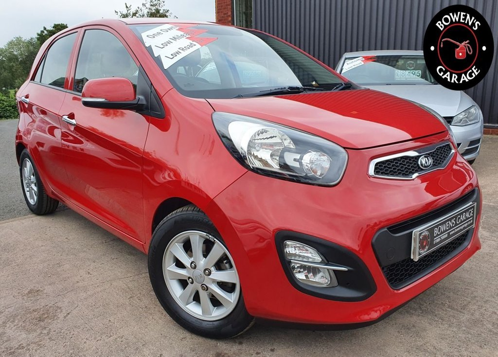 USED 2013 63 KIA PICANTO 1.0 2 5D 68 BHP 1 Lady Owner - Low Miles - 7 Services - FREE Tax