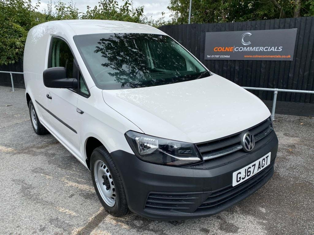 USED 2017 67 VOLKSWAGEN CADDY 2.0 TDI C20 BlueMotion Tech Startline EU6 (s/s) 5dr **AIR CONDITIONING**EURO 6**