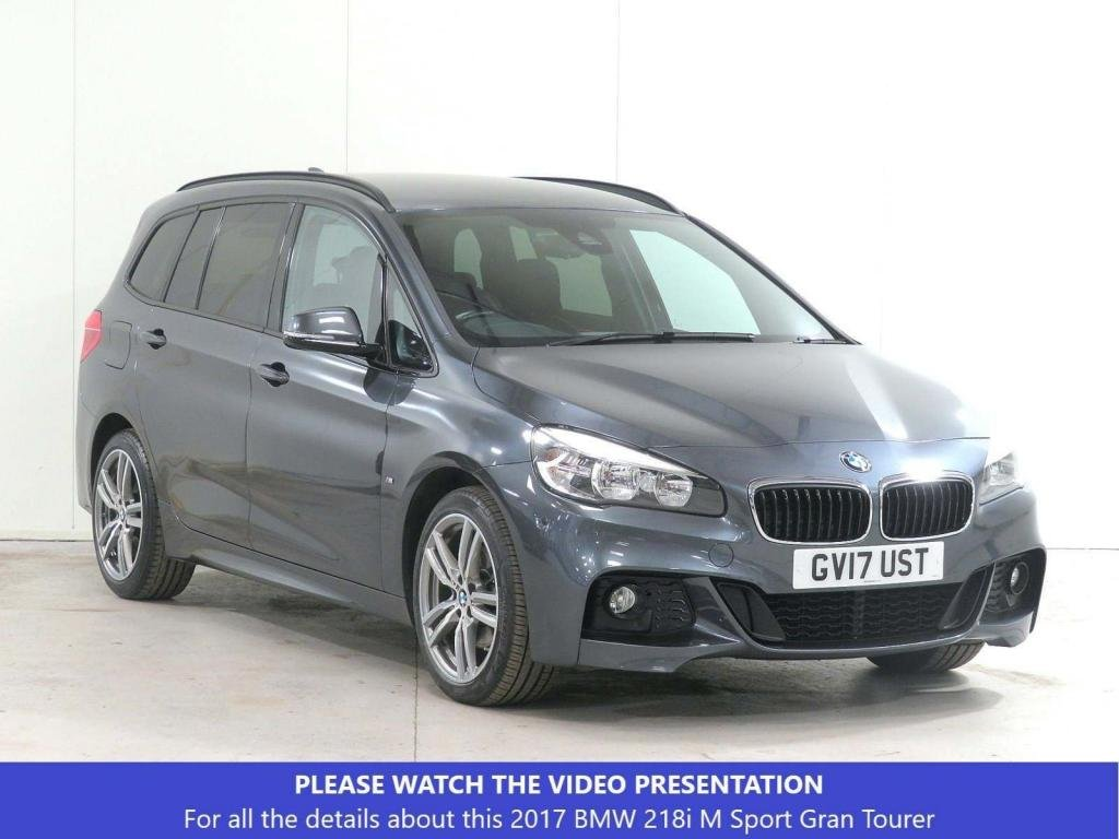 USED 2017 17 BMW 2 SERIES 1.5 218i M Sport Gran Tourer (s/s) 5dr COMFORT-PACK*HEAT-SEATS*VAT-Q
