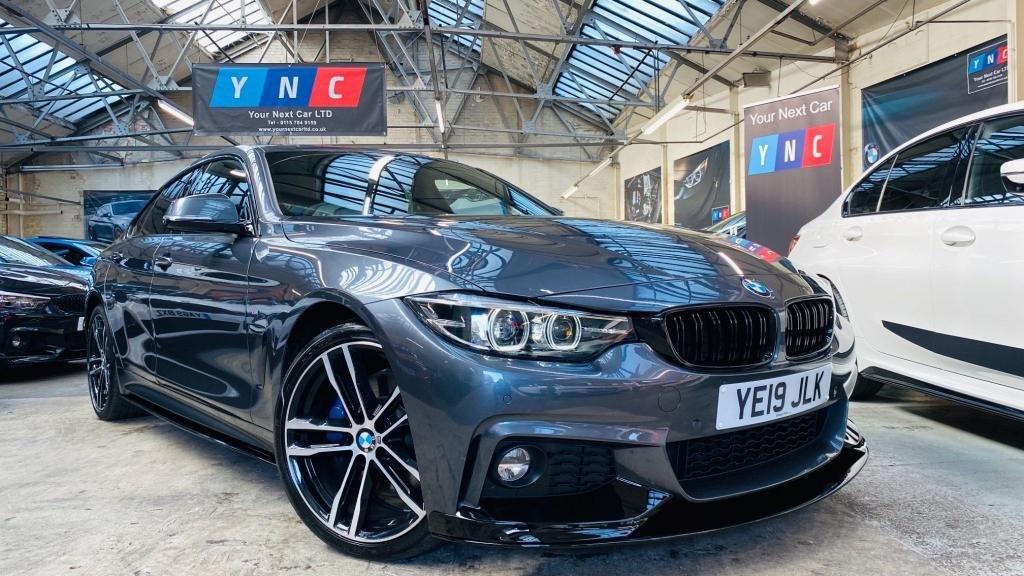 USED 2019 19 BMW 4 SERIES 2.0 420i GPF M Sport Gran Coupe Auto (s/s) 5dr PERFORMANCEKIT+PLUSPACK+19S