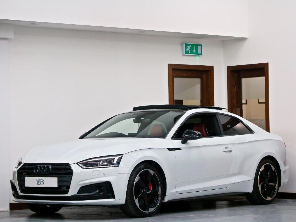 USED 2017 17 AUDI S5 3.0 TFSI V6 Tiptronic quattro (s/s) 2dr PAN ROOF+ RED SS SEATS + R/CAM