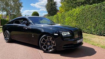 2020 ROLLS-ROYCE WRAITH 6.6 V12 Black Badge Auto 2dr £255000.00