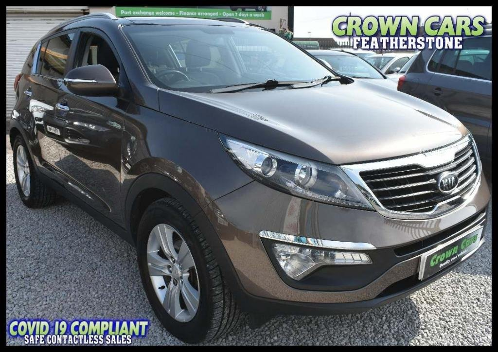 USED 2011 61 KIA SPORTAGE 1.7 CRDi 2 2WD 5dr AMAZING LOW RATE FINANCE DEALS