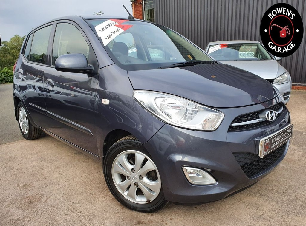 USED 2013 63 HYUNDAI I10 1.2 ACTIVE 5D 85 BHP Demo +1 Owner - Just 6752 Miles - 5 Services