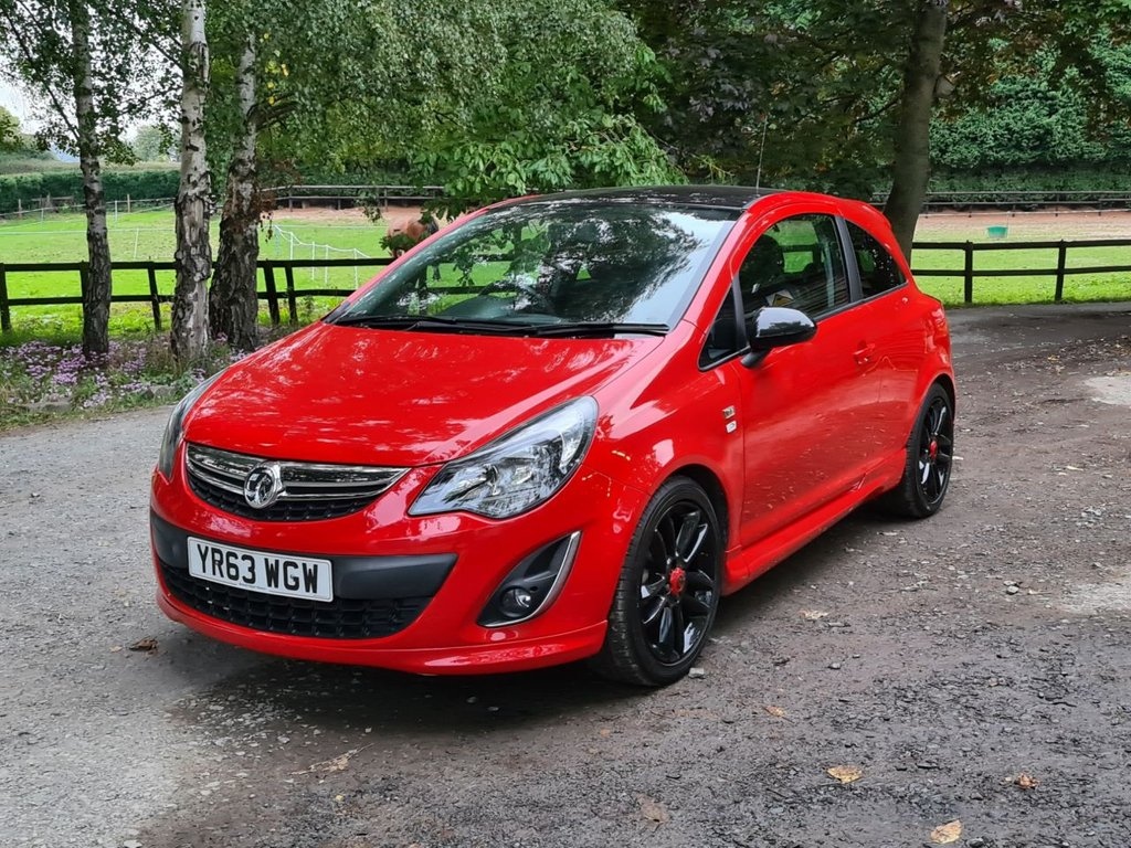 USED 2013 63 VAUXHALL CORSA 1.2 LIMITED EDITION 3d 83 BHP +++NEW TIMING CHAIN+++