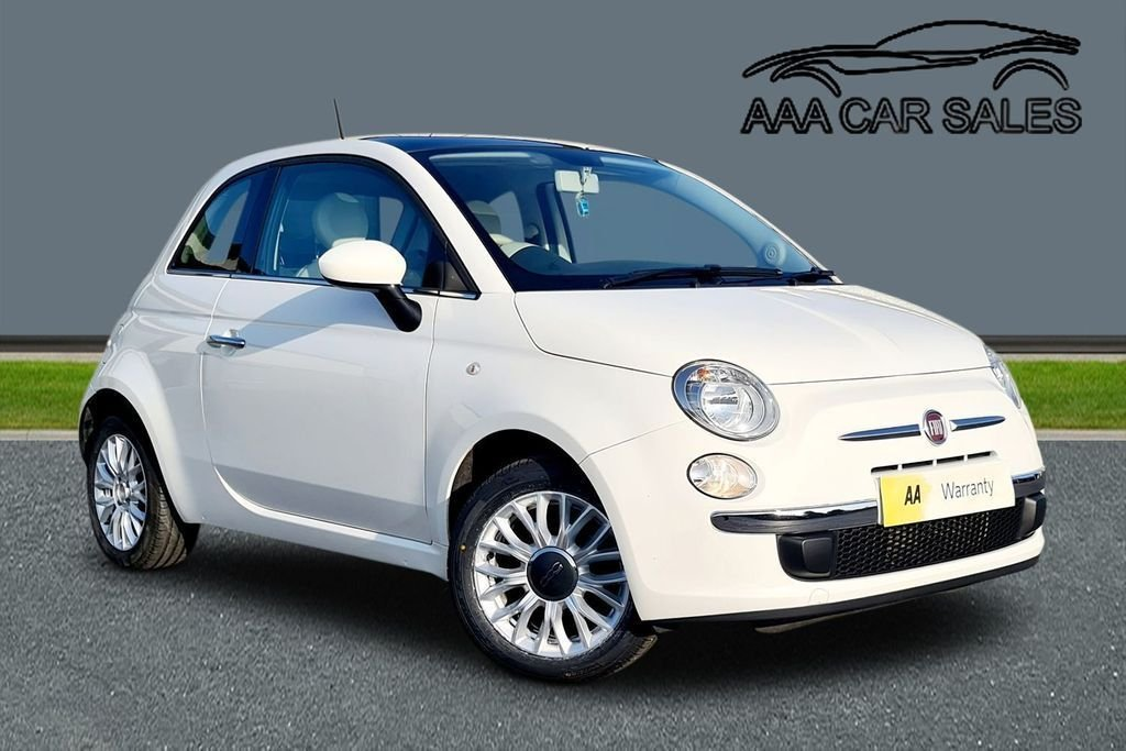 USED 2015 15 FIAT 500 1.2 LOUNGE 3d 69 BHP Pan Roof ,£30 TAX