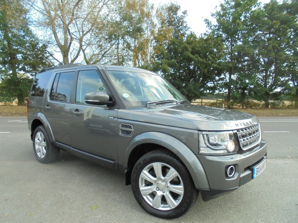 USED 2014 14 LAND ROVER DISCOVERY 3.0 SDV6 XS 5d 255 BHP