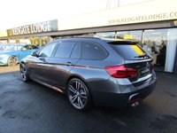 "USED 2017 67 BMW 3 SERIES 3.0 330D XDRIVE M SPORT TOURING 5d 255 BHP 1 OWNER, PRO/NAV, HARMAN KARDON, 19"" ALLOYS, HEADS UP DISPLAY, PARK ASSIST, REVERSE CAMERA, HEATED STEERING WHEEL, ONLY 18,889 MILES...."