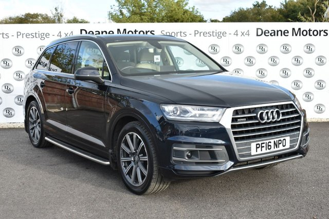 2016 16 AUDI Q7 3.0 TDI QUATTRO SE 5d 269 BHP MASSIVE SPECIFICATION