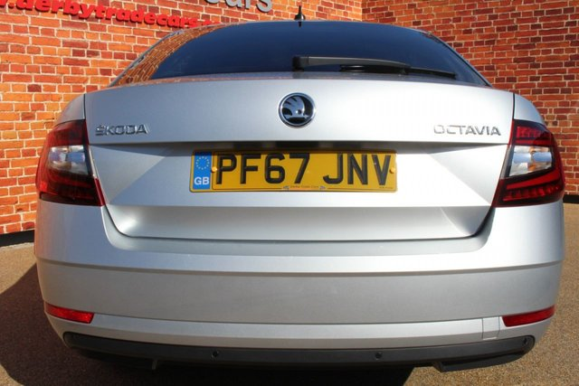SKODA OCTAVIA at Derby Trade Cars