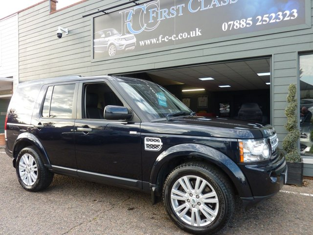 2011 61 LAND ROVER DISCOVERY 4 3.0 SDV6 XS 5d 255 BHP