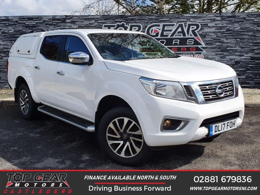 USED 2017 17 NISSAN NAVARA 2.3 DCI 190 BHP N-CONNECTA 4X4 DCB **OVER 100 VEHICLES IN STOCK** ** A/C, REVERSING CAMERA, TRUCKMAN CANOPY, SAT NAV ** OVER 90 VEHICLES IN STOCK
