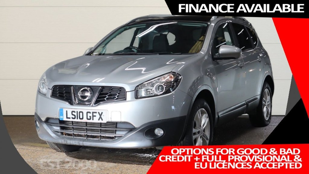 USED 2010 10 NISSAN QASHQAI+2 1.5 ACENTA PLUS 2 DCI 5d 105 BHP * 7 SEATS * 2 KEYS * 6 SERVICES * MAR 2021 MOT * PANORAMIC ROOF * 17 INCH ALLOYS *