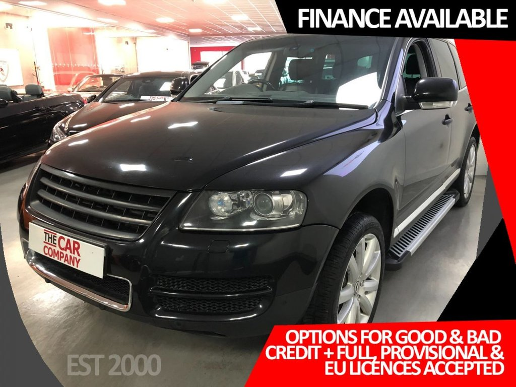 USED 2005 55 VOLKSWAGEN TOUAREG 4.9 V10 TDI  5d 308 BHP * NAV * 20 INCH ALLOY WHEELS  * 2 KEYS * MOT JULY *