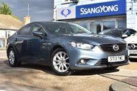 USED 2013 13 MAZDA 6 2.0 SE-L 4d 143 BHP FINANCE FROM £139 PER MONTH £0 DEPOSIT