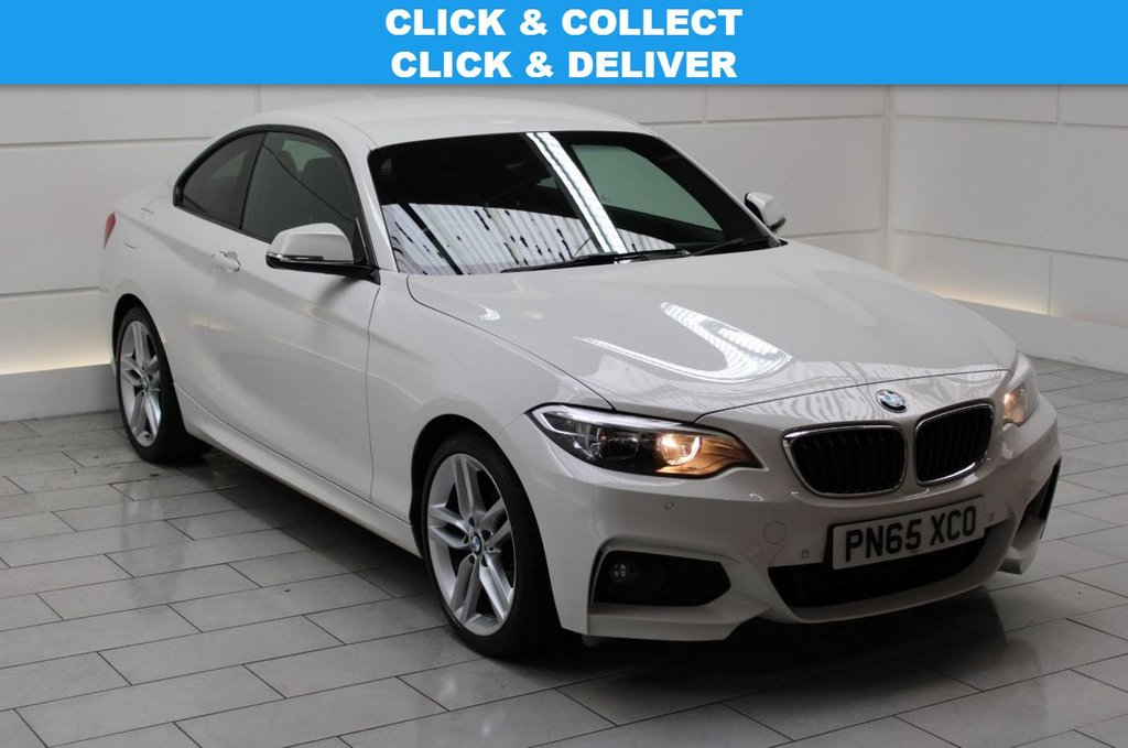 USED 2015 65 BMW 2 SERIES 2.0 218d M Sport (start/stop)