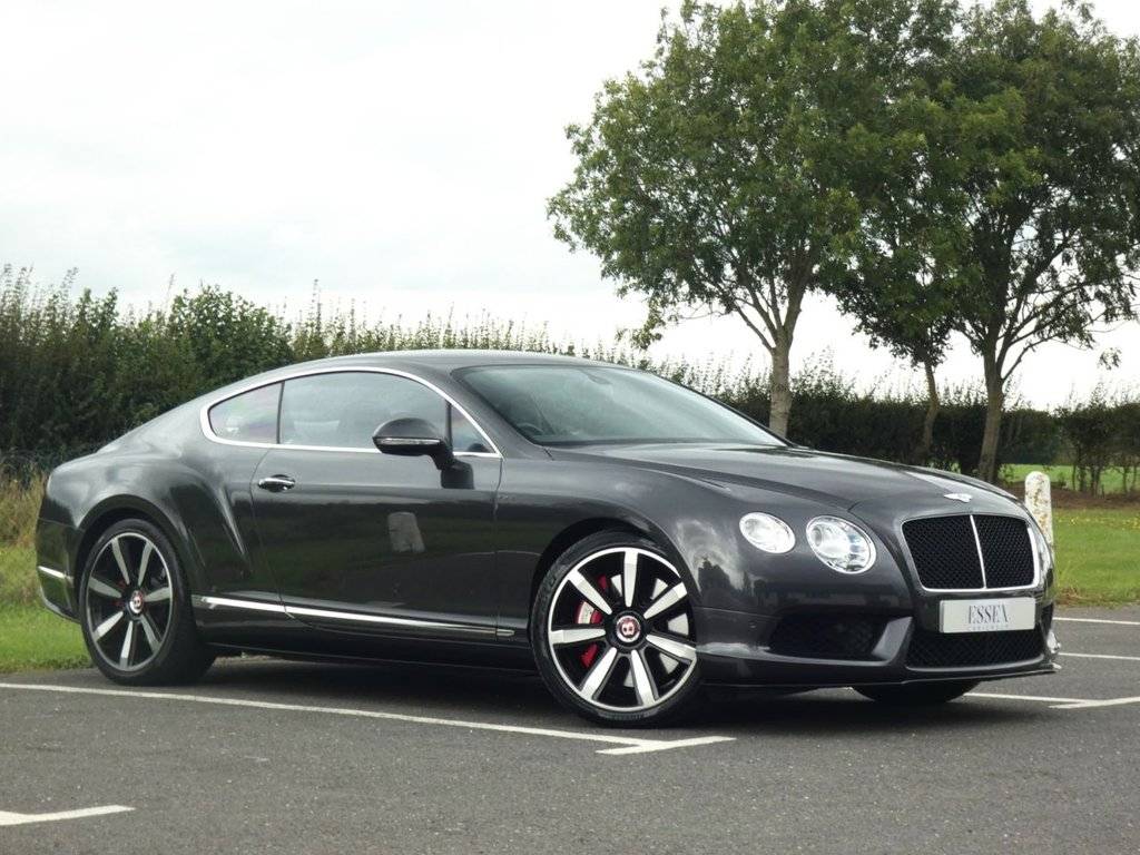 USED 2014 64 BENTLEY CONTINENTAL GT 4.0 GT V8 S 2d 521 BHP 1 Owner
