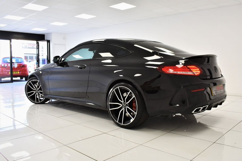 USED 2017 17 MERCEDES-BENZ C 63 AMG 4.0 COUPE