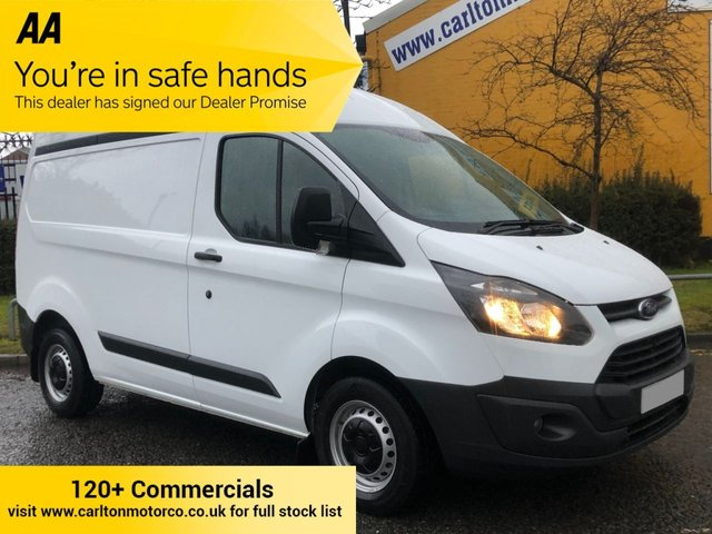 2014 14 FORD TRANSIT CUSTOM 270 TDCi 100 L1 H2 HIGH ROOF [ LOW MILEAGE ] PANEL VAN FWD