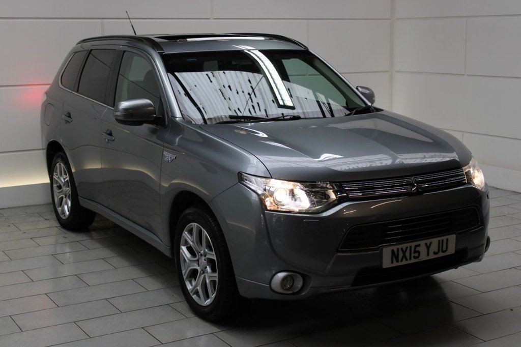 USED 2015 15 MITSUBISHI OUTLANDER 2.0 GX4h 4x4 Auto (5 seats) ESTATE