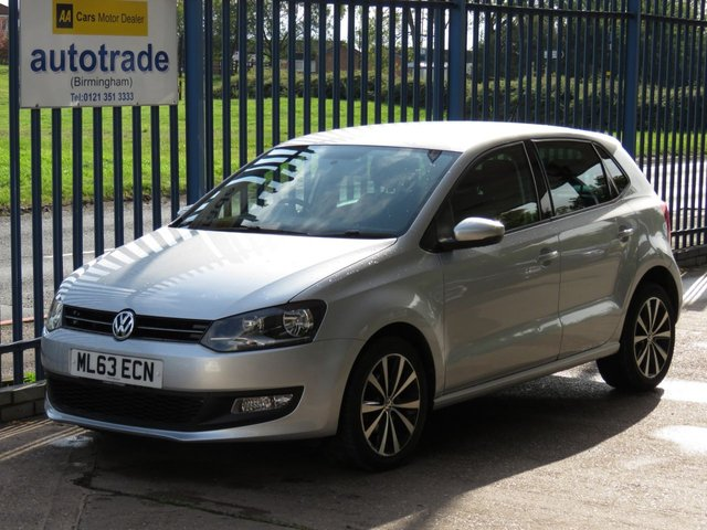 USED 2013 63 VOLKSWAGEN POLO 1.2 MATCH EDITION TDI 5d 74 BHP Just £20 Road Tax