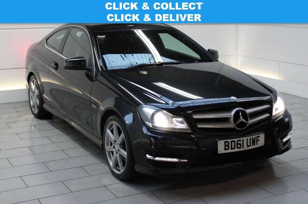 USED 2011 61 MERCEDES-BENZ C-CLASS 2.1 C220 CDI BlueEFFICIENCY AMG Sport [COMAND]