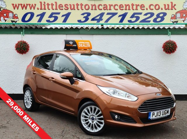 USED 2013 13 FORD FIESTA 1.0 TITANIUM 5d 99 BHP ONE OWNER, FULL SERVICE HISTORY