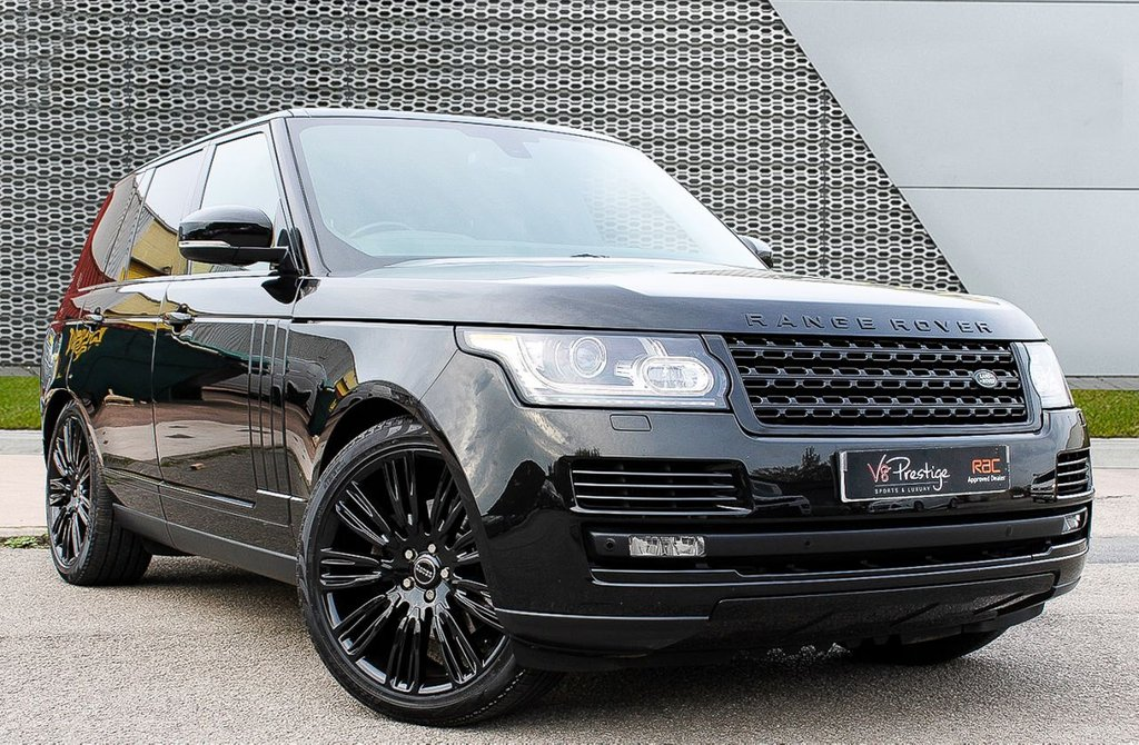 "USED 2014 14 LAND ROVER RANGE ROVER 3.0 TDV6 VOGUE 5d 258 BHP **STEALTH PACK/22"" ALLOYS**"