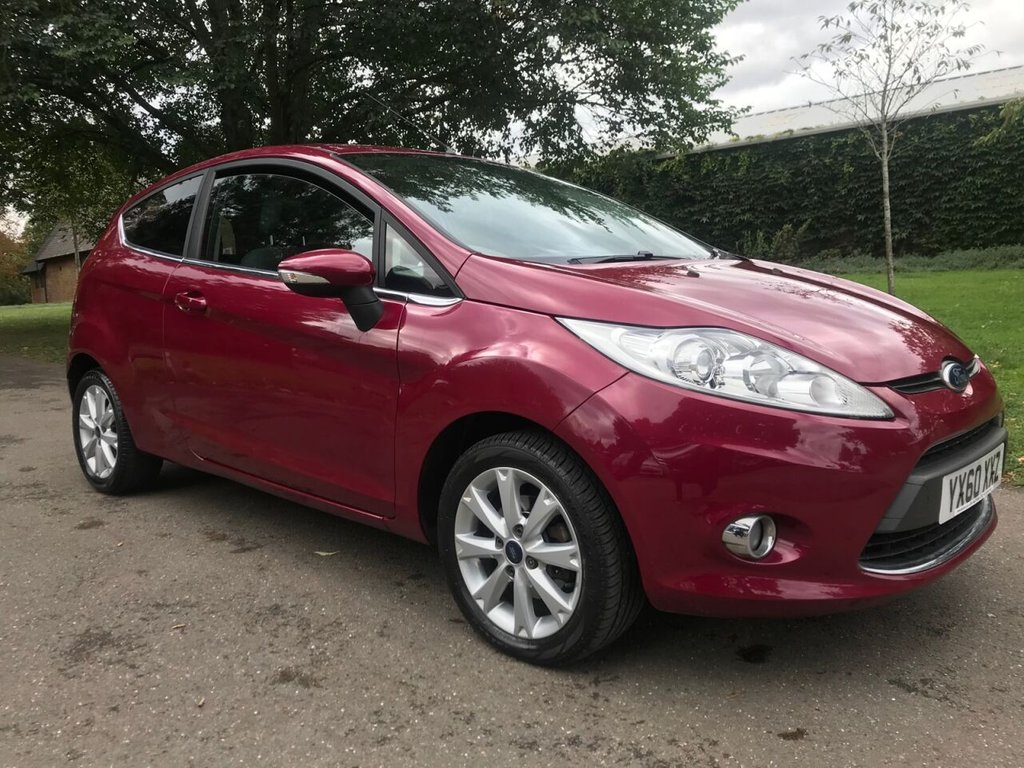 USED 2010 60 FORD FIESTA 1.4 ZETEC 16V 3d 96 BHP Ideal 1st Car With Low Insurance Group.