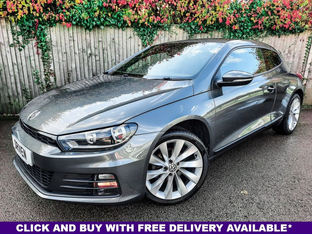 USED 2015 15 VOLKSWAGEN SCIROCCO 2.0 GT TDI BLUEMOTION TECHNOLOGY DSG 2d 150 BHP
