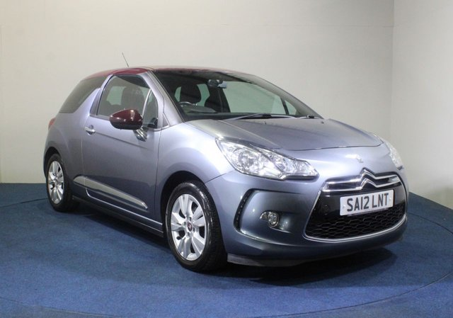 USED 2012 12 CITROEN DS3 1.6 E-HDI DSTYLE 3d 90 BHP