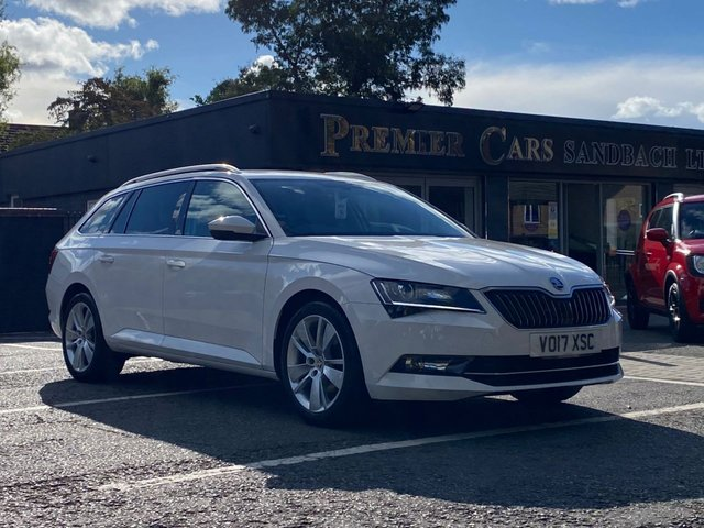 USED 2017 17 SKODA SUPERB 1.4 SE L EXECUTIVE TSI DSG 5d 148 BHP