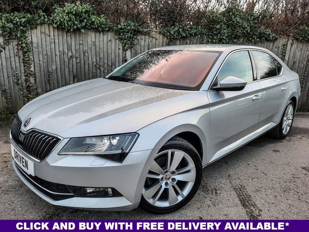 USED 2017 17 SKODA SUPERB 2.0 SE L EXECUTIVE TDI 5d 188 BHP