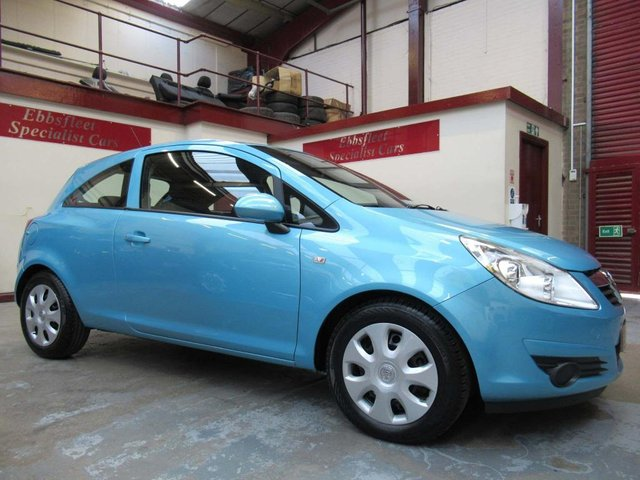 USED 2010 60 VAUXHALL CORSA 1.2 i 16v Exclusiv 3dr ***9900 MILES S/HISTORY***