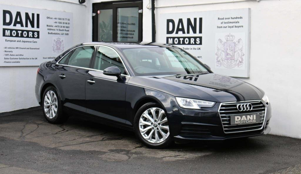 USED 2016 16 AUDI A4 2.0 TDI ultra Sport S Tronic (s/s) 4dr 1 OWNER*SATNAV*PARKING AID