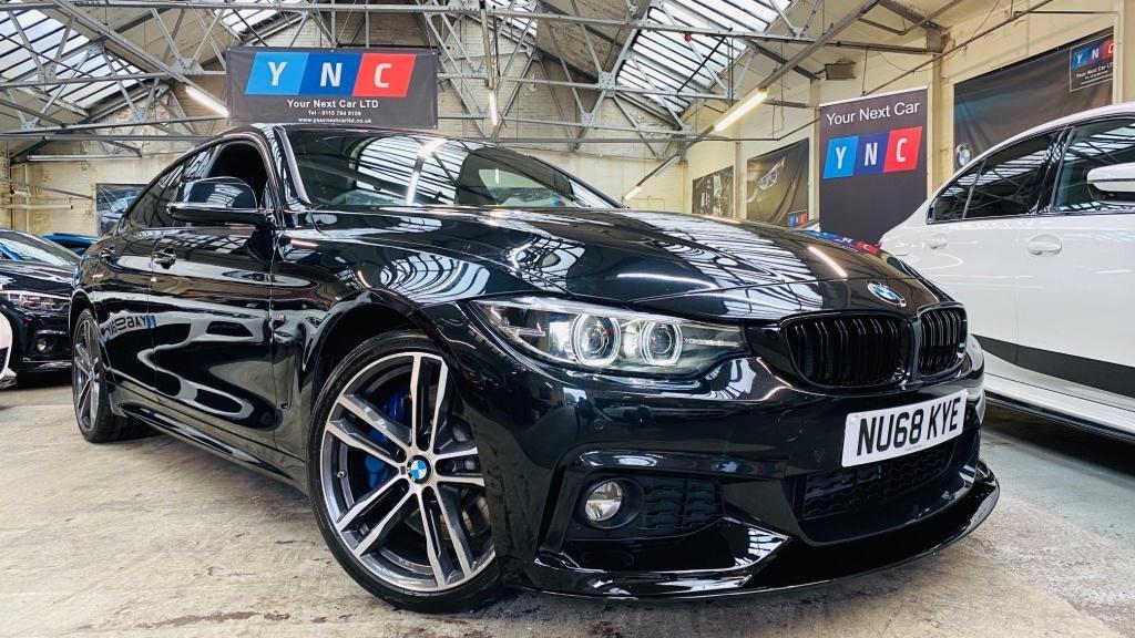 USED 2018 68 BMW 4 SERIES 3.0 430d M Sport Gran Coupe Auto (s/s) 5dr PERFORMANCEKIT+19S+PLUSPACK!