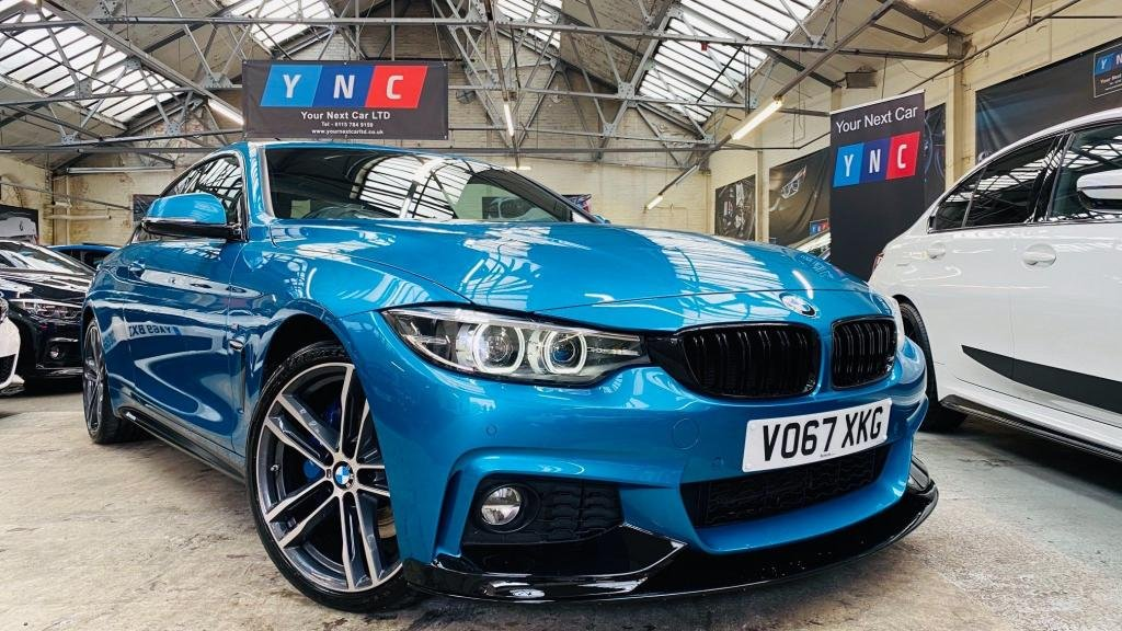 USED 2017 67 BMW 4 SERIES 2.0 420d M Sport (s/s) 2dr PERFORMANCEKIT+19S+PLUSPACK!