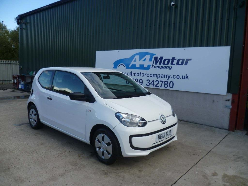 USED 2012 12 VOLKSWAGEN UP 1.0 Take up! 3dr LOW INSURANCE AND TAX GROUP
