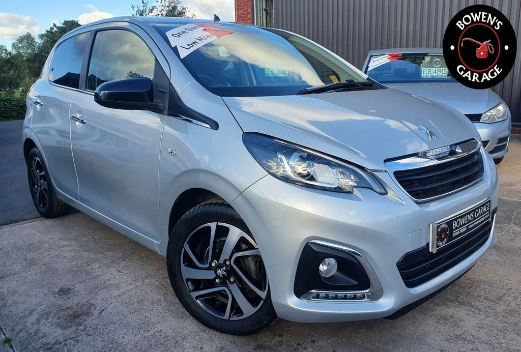 USED 2017 67 PEUGEOT 108 1.2 PURETECH COLLECTION 5D 82 BHP 1 Owner - Low Miles - 3 Services - Huge Spec LTD Edition