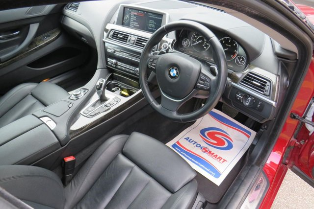 USED 2014 14 BMW 6 SERIES 3.0 640D SE GRAN COUPE 4d 309 BHP