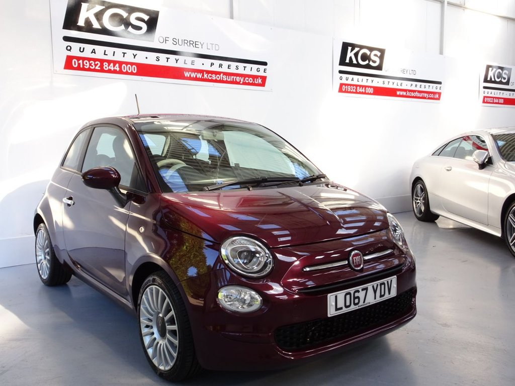 USED 2017 FIAT 500 0.9 TWINAIR POP STAR 3d 85 BHP LOW MILEAGE - AIR CONDITIONING