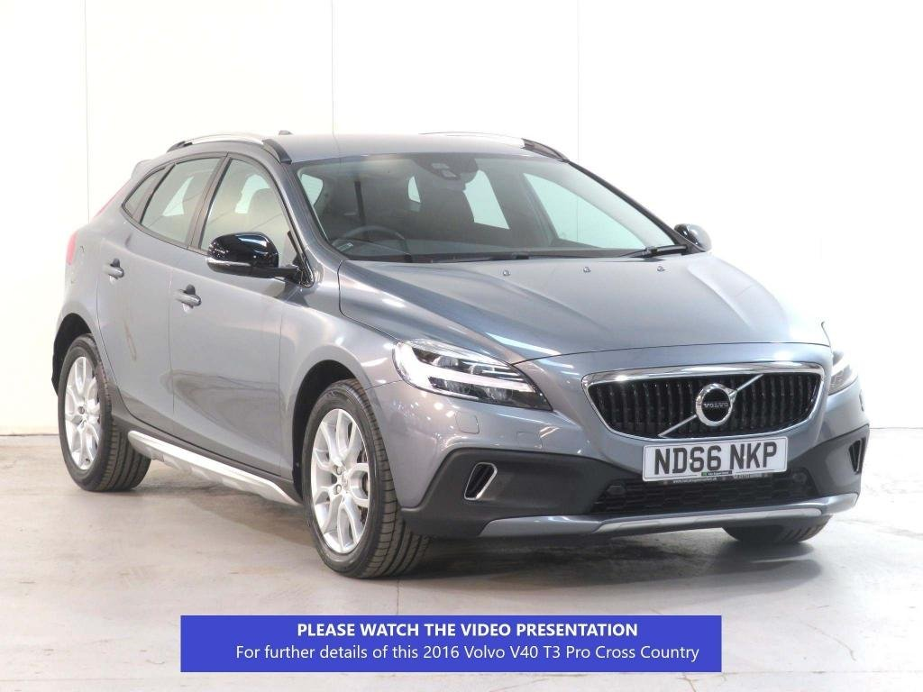 USED 2016 66 VOLVO V40 1.5 T3 Pro Cross Country Auto (s/s) 5dr WINTER ** FRONT + REAR SENSORS