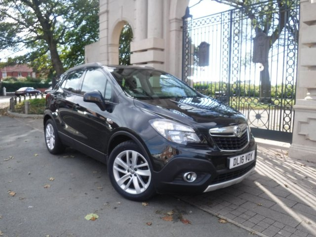 USED 2016 16 VAUXHALL MOKKA 1.6 EXCLUSIV S/S 5d 114 BHP FINANCE ARRANGED**PART EXCHANGE WELCOME**BLUETOOTH**DAB**AUX**USB**P.SENSORS**SERVICE HISTORY**