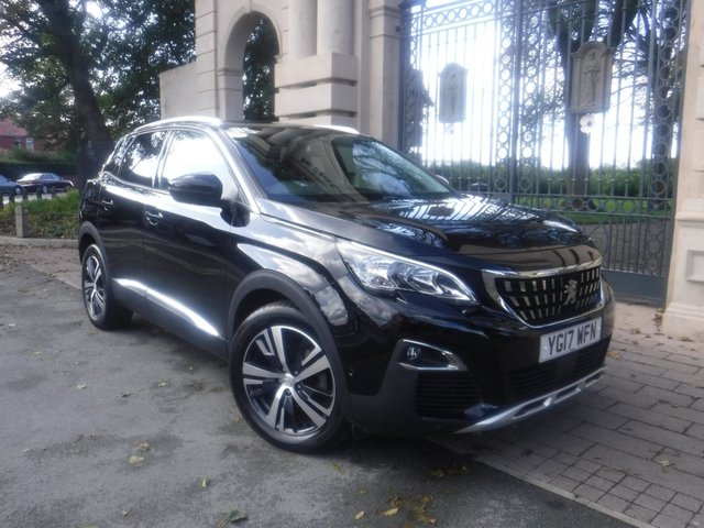 USED 2017 17 PEUGEOT 3008 1.2 PURETECH S/S ALLURE 5d 130 BHP *FULL PEUGEOT SERVICE HISTORY*1 OWNER FROM NEW*SAT NAV*CAMERA*DAB*BLUETOOTH*