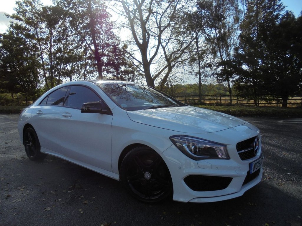 USED 2015 15 MERCEDES-BENZ CLA 1.6 CLA180 AMG SPORT 4d 122 BHP