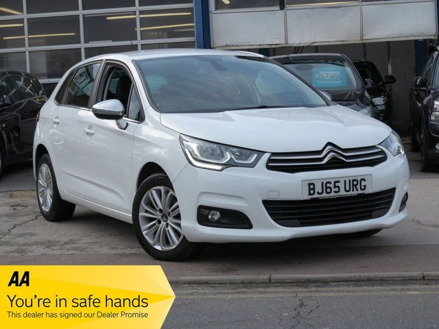 USED 2016 65 CITROEN C4 1.6 BLUEHDI FLAIR S/S EAT6 5d 118 BHP AUTOMATIC