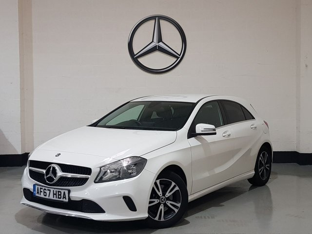 USED 2017 67 MERCEDES-BENZ A-CLASS 1.6 A 160 SE 5d 102 BHP 1 Owner / Leather Seats / Sat-Nav/ Rear Camera / Cruise