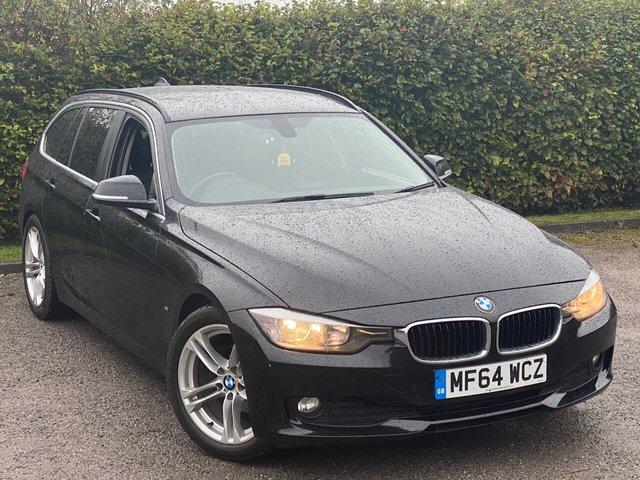 USED 2014 64 BMW 3 SERIES 2.0 320D EFFICIENTDYNAMICS BUSINESS TOURING 5d 161 BHP ** COLOUR SATELLITE NAVIGATION**